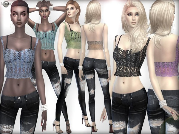 Mezla outfit by jomsims at TSR image 2419 Sims 4 Updates
