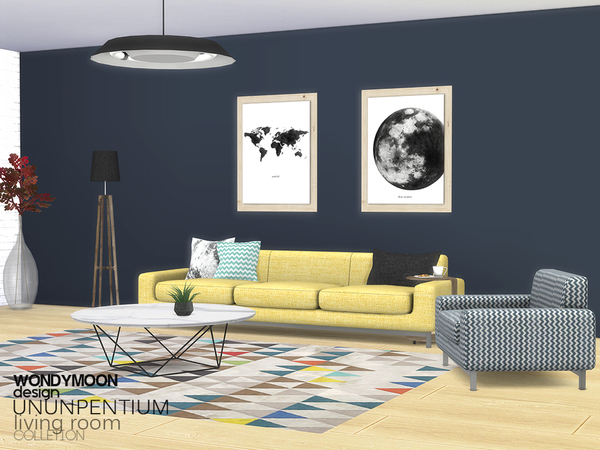 Ununpentium Living Room I by wondymoon at TSR image 259 Sims 4 Updates