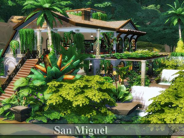 San Miguel house by Danuta720 at TSR image 2610 Sims 4 Updates