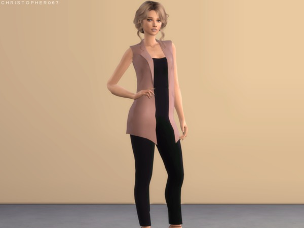 Candice Jumpsuit by Christopher067 at TSR image 2611 Sims 4 Updates