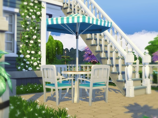 Classic beauty house by mychqqq at tsr sims 4 updates for Classic house sims 4