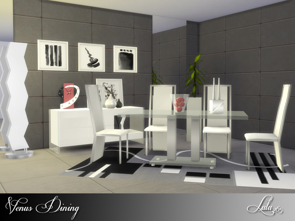 Venus Dining by Lulu265 at TSR image 2617 Sims 4 Updates