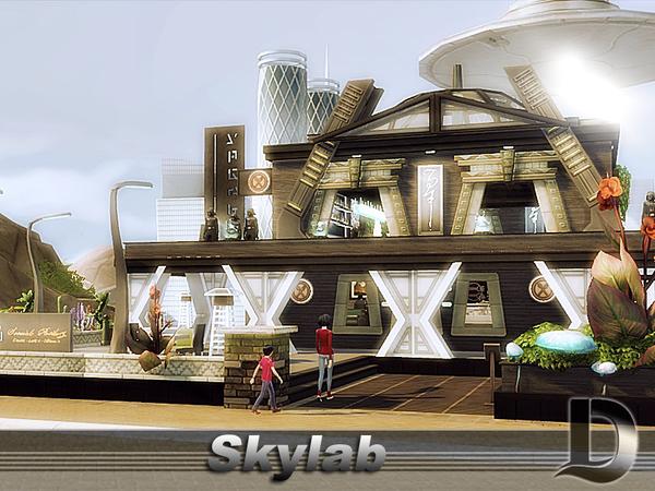 Skylab restaurant by Danuta720 at TSR image 2620 Sims 4 Updates