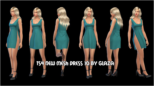 Sims 4 Dress 10 at All by Glaza