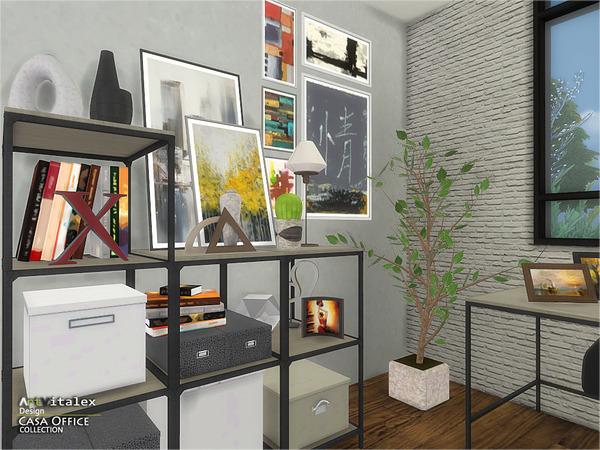 Casa Office by ArtVitalex at TSR image 268 Sims 4 Updates