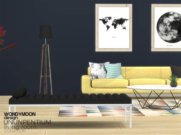 Ununpentium Living Room I by wondymoon at TSR image 269 Sims 4 Updates