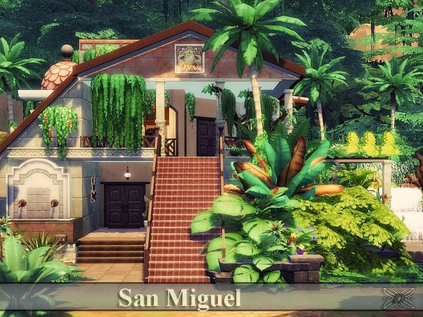 San Miguel house by Danuta720 at TSR image 2710 Sims 4 Updates
