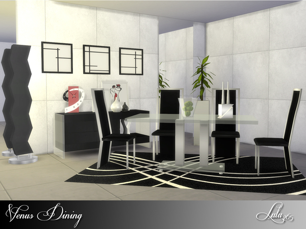 Venus Dining by Lulu265 at TSR image 2717 Sims 4 Updates