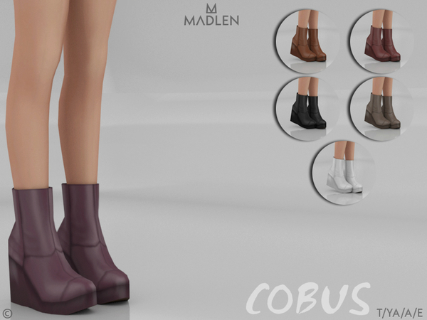 Sims 4 Madlen Cobus Boots by MJ95 at TSR