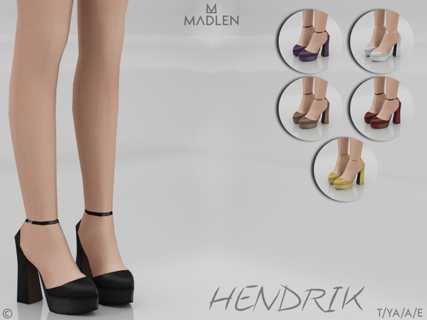 Sims 4 Madlen Hendrik Shoes by MJ95 at TSR