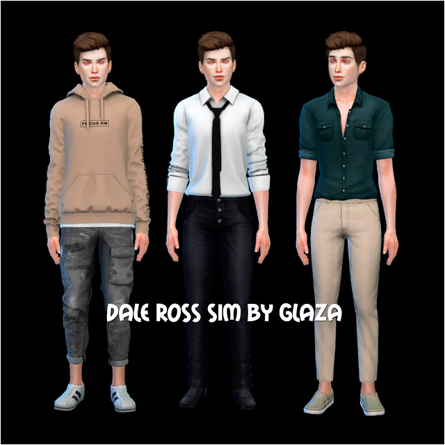DALE ROSS at All by Glaza image 2761 Sims 4 Updates