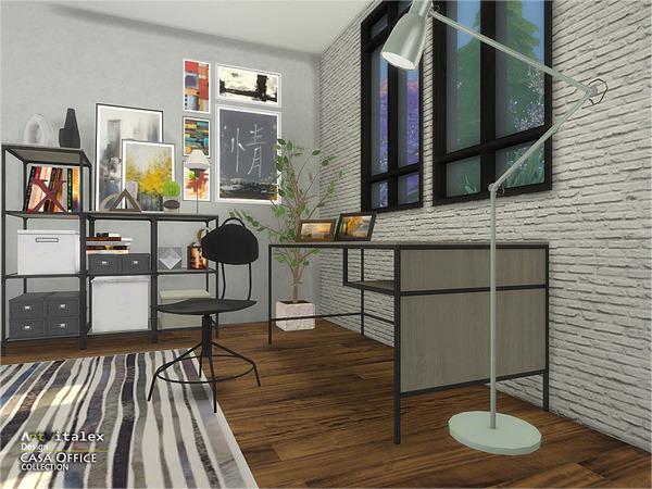 Casa Office by ArtVitalex at TSR image 278 Sims 4 Updates
