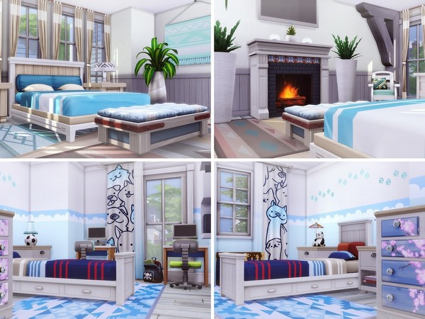 Classic Beauty house by MychQQQ at TSR image 2815 Sims 4 Updates