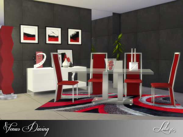 Venus Dining by Lulu265 at TSR image 2816 Sims 4 Updates