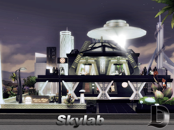 Skylab restaurant by Danuta720 at TSR image 2820 Sims 4 Updates