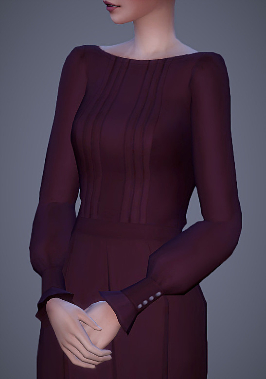 Grace Outfit 15 Swatches at Magnolian Farewell image 2821 Sims 4 Updates
