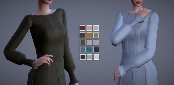 Grace Outfit 15 Swatches at Magnolian Farewell image 2871 670x328 Sims 4 Updates