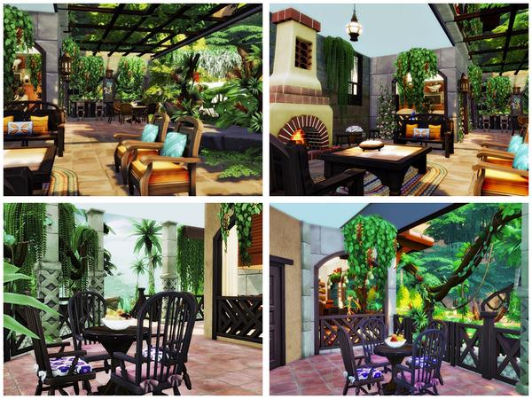 San Miguel house by Danuta720 at TSR image 2910 Sims 4 Updates