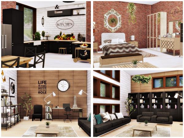 Sims 4 New line 5 modern villa by Danuta720 at TSR