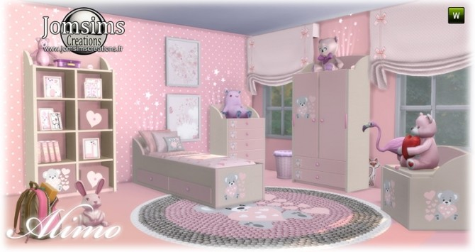 Alimo kids room at Jomsims Creations image 2951 670x355 Sims 4 Updates