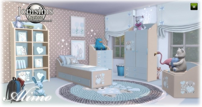 Alimo kids room at Jomsims Creations image 2961 670x355 Sims 4 Updates