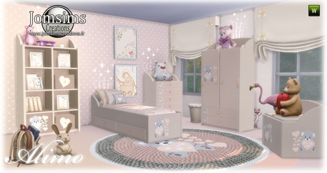 Alimo kids room at Jomsims Creations image 2971 670x355 Sims 4 Updates