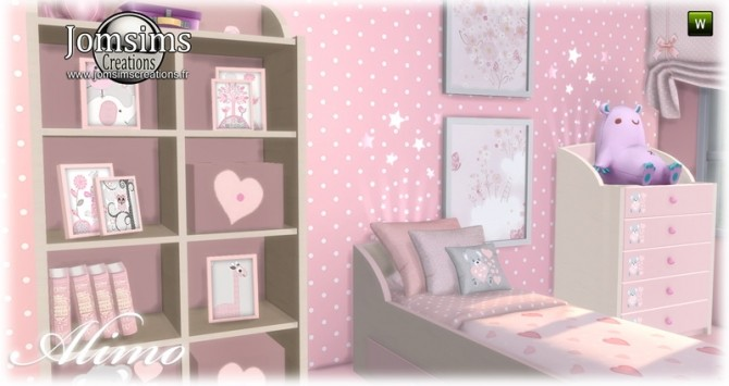 Alimo kids room at Jomsims Creations image 2981 670x355 Sims 4 Updates