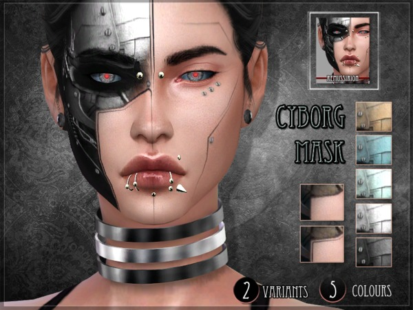Cyborg Set by RemusSirion at TSR image 3023 Sims 4 Updates