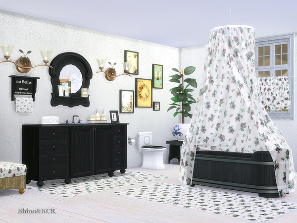Bathroom Country by ShinoKCR at TSR image 307 Sims 4 Updates