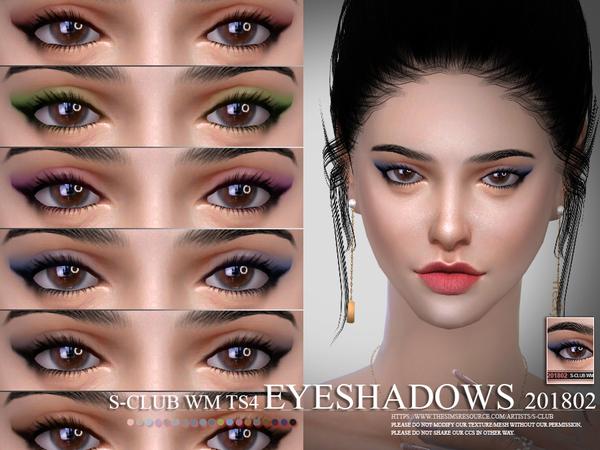 Eyeshadow 201802 by S Club WM at TSR image 31 Sims 4 Updates