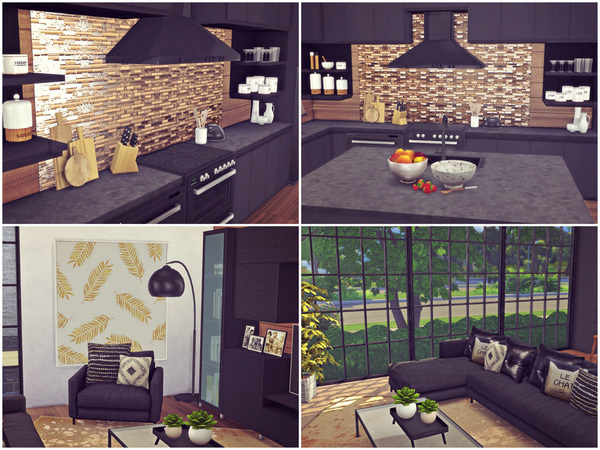 Golden Ray house by Sooky at TSR image 3100 Sims 4 Updates