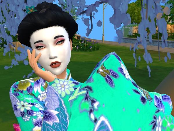 Geisha Mask V1 by Sims4D at TSR image 3107 Sims 4 Updates