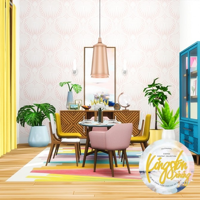 Kingston Dining 20 New Items at Simsational Designs image 3131 670x670 Sims 4 Updates