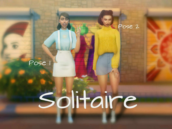 Posepack by ingria at TSR image 320 Sims 4 Updates
