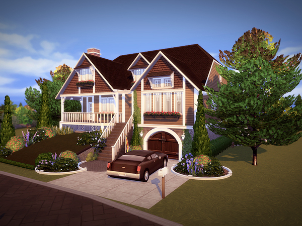 Greenhill house NO CC by melcastro91 at TSR image 3221 Sims 4 Updates
