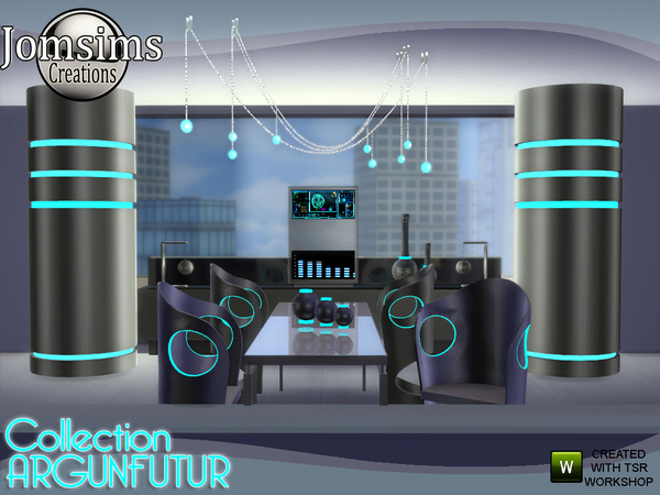 Argunfutur dining room led and reflections by jomsims at TSR image 3225 Sims 4 Updates