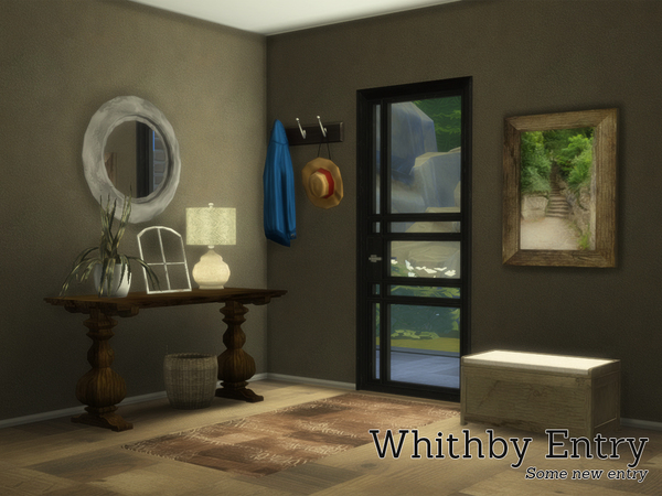 Whithby Entry rustic set by Angela at TSR image 3226 Sims 4 Updates