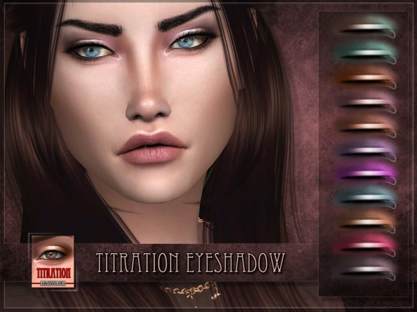 Titration Eyeshadow by RemusSirion at TSR image 326 Sims 4 Updates