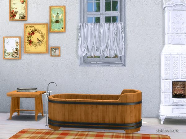 Bathroom Country by ShinoKCR at TSR image 328 Sims 4 Updates