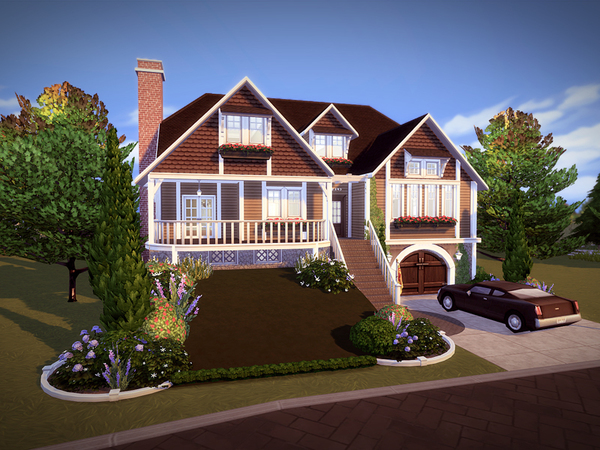 Greenhill house NO CC by melcastro91 at TSR image 3319 Sims 4 Updates