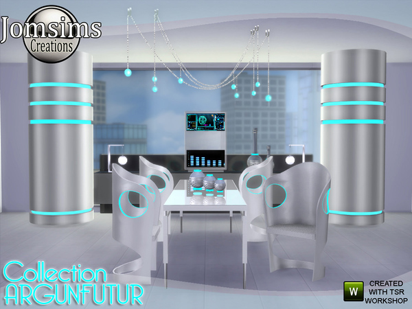 Argunfutur dining room led and reflections by jomsims at TSR image 3323 Sims 4 Updates