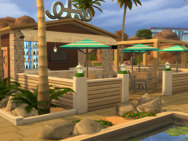 Little Lido & Bar by CherryNellie at TSR image 334 Sims 4 Updates