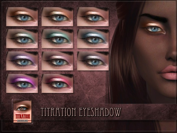 Titration Eyeshadow by RemusSirion at TSR image 336 Sims 4 Updates