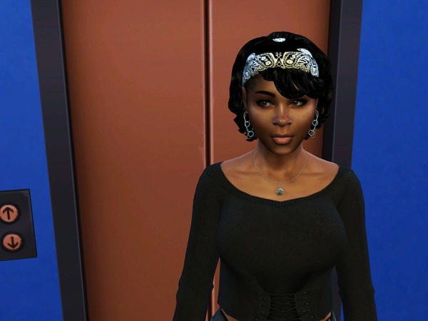 Bang Wavy Bandana by drteekaycee at TSR image 340 Sims 4 Updates