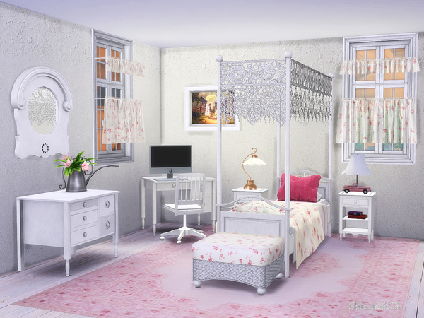 Country Kids room by ShinoKCR at TSR image 3411 Sims 4 Updates