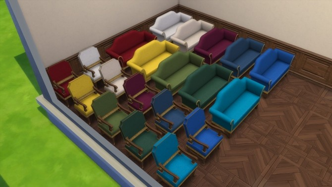 Sims 4 Living Room from TS3 by TheJim07 at Mod The Sims