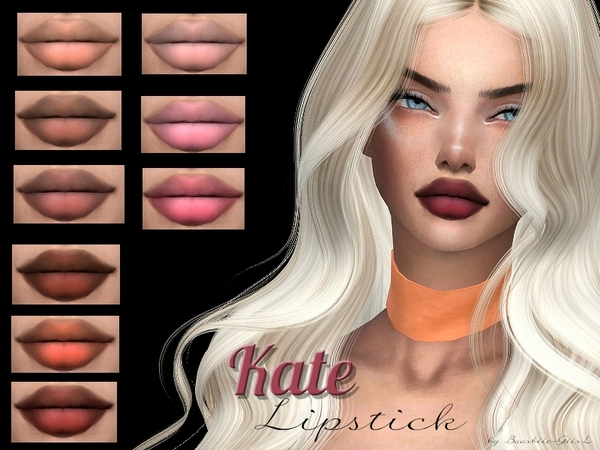 Sims 4 Kate Lipstick by Baarbiie GiirL at TSR