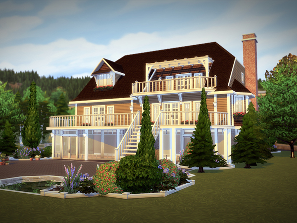 Greenhill house NO CC by melcastro91 at TSR image 3418 Sims 4 Updates