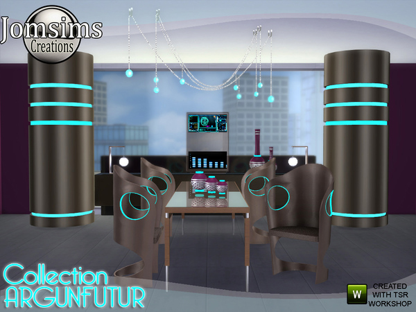 Argunfutur dining room led and reflections by jomsims at TSR image 3423 Sims 4 Updates