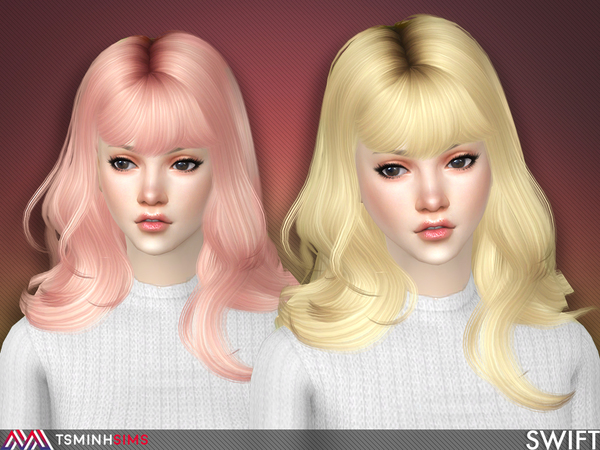 Swift Hair 57 by TsminhSims at TSR image 345 Sims 4 Updates